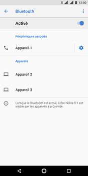 Nokia 5.1 - Bluetooth - connexion Bluetooth - Étape 11