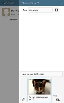 Samsung T335 Galaxy Tab 4 8-0 - MMS - Afbeeldingen verzenden - Stap 19