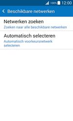 Samsung J100H Galaxy J1 - Netwerk - Handmatig netwerk selecteren - Stap 10