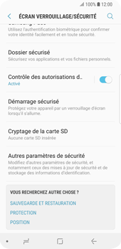 Samsung Galaxy S9 - Sécuriser votre mobile - Personnaliser le code PIN de votre carte SIM - Étape 5
