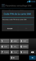 Bouygues Telecom Bs 401 - Sécuriser votre mobile - Personnaliser le code PIN de votre carte SIM - Étape 8