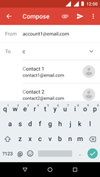 Nokia 1 - E-mail - Sending emails - Step 6