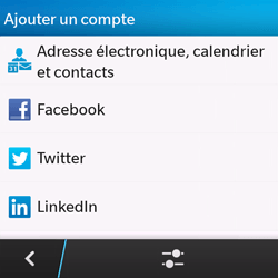 BlackBerry Q10 - E-mail - Configuration manuelle - Étape 6
