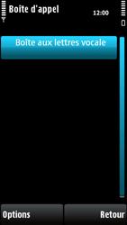 Nokia X6-00 - Messagerie vocale - configuration manuelle - Étape 7