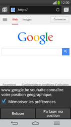 LG G Flex D955 - Internet - Navigation sur internet - Étape 5