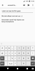 Sony xperia-xz2-compact-h8314 - E-mail - Bericht met attachment versturen - Stap 9
