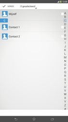 Sony C6833 Xperia Z Ultra LTE - Contactgegevens overzetten - delen via Bluetooth - Stap 6