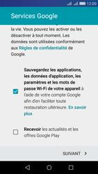 Huawei Y6 - Applications - Créer un compte - Étape 16