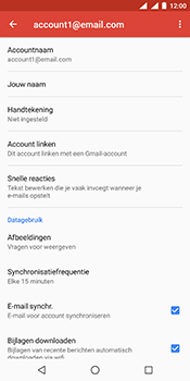 Nokia 7 Plus Dual-SIM (TA-1046) - E-mail - Instellingen KPNMail controleren - Stap 8