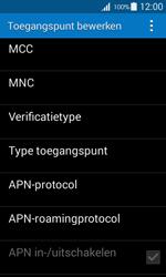 Samsung G357 Galaxy Ace 4 - Internet - Handmatig instellen - Stap 12