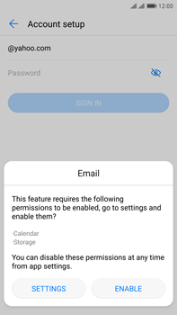 Huawei Mate 9 Pro - Email - 032b. Email wizard - Yahoo - Step 5