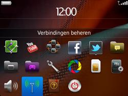 BlackBerry 9900 Bold Touch - WiFi - Handmatig instellen - Stap 4