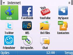 Nokia E5-00 - Internet - handmatig instellen - Stap 21