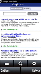 Nokia 5800 Xpress Music - Internet - Navigation sur Internet - Étape 8