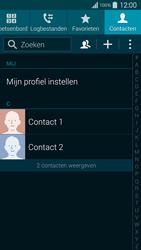 Samsung G900F Galaxy S5 - Contacten en data - Contacten kopiëren van toestel naar SIM - Stap 4