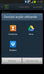 Samsung Galaxy Fresh Duos - Chamadas - Como bloquear chamadas de um número -  11