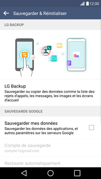LG H815 G4 - Device maintenance - Back up - Étape 8