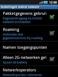 Samsung S5570 Galaxy Mini - Internet - handmatig instellen - Stap 7