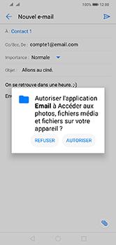 Huawei Y7 (2019) - E-mail - envoyer un e-mail - Étape 10