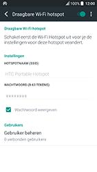 HTC U Play (Model 2PZM3) - WiFi - Mobiele hotspot instellen - Stap 11