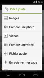 Acer Liquid E600 - MMS - envoi d'images - Étape 11
