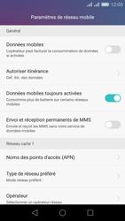 Huawei Honor 5X - Internet - Désactiver les données mobiles - Étape 7