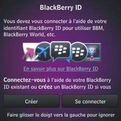 BlackBerry Q10 - Premiers pas - Créer un compte - Étape 12