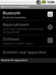 LG P350 Optimus Me - Bluetooth - headset, carkit verbinding - Stap 6