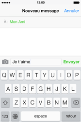 Apple iPhone 4 - Contact, Appels, SMS/MMS - Envoyer un MMS - Étape 8