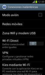 Samsung S7560 Galaxy Trend - Mensajería - Configurar el equipo para mensajes multimedia - Paso 5