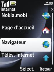 Nokia 2730 classic - Internet - navigation sur Internet - Étape 3