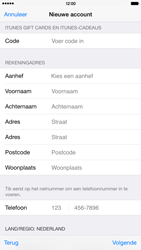 Apple iPhone 6 Plus - Applicaties - Account instellen - Stap 21