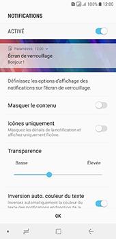 Samsung Galaxy A6 - Sécuriser votre mobile - Activer le code de verrouillage - Étape 11