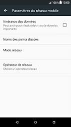 HTC Desire 650 - Aller plus loin - Désactiver les données à l'étranger - Étape 6