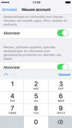 Apple iPhone 5c met iOS 10 (Model A1507) - Applicaties - Account aanmaken - Stap 16