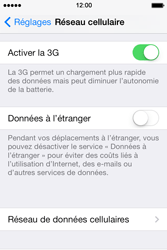 Apple iPhone 4 S iOS 7 - Internet - Configuration manuelle - Étape 5