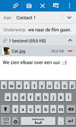 Samsung Galaxy J1 (J100H) - E-mail - Bericht met attachment versturen - Stap 18