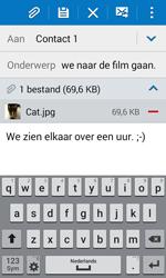 Samsung Galaxy J1 (SM-J100H) - E-mail - Hoe te versturen - Stap 18