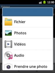 Samsung S5300 Galaxy Pocket - E-mail - envoyer un e-mail - Étape 10