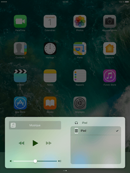 Apple iPad Mini 3 iOS 10 - iOS features - Centre de contrôle - Étape 8