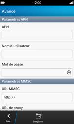 BlackBerry Z10 - MMS - configuration manuelle - Étape 9