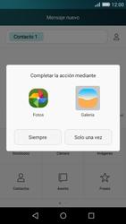 Huawei P8 Lite - Mensajería - Escribir y enviar un mensaje multimedia - Paso 13