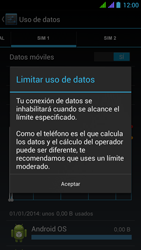 BQ Aquaris 5 HD - Internet - Ver uso de datos - Paso 10