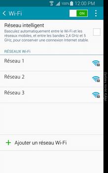Samsung N915FY Galaxy Note Edge - WiFi et Bluetooth - Configuration manuelle - Étape 6