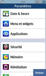 Samsung Wave 723 - Sécuriser votre mobile - Personnaliser le code PIN de votre carte SIM - Étape 4