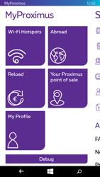 Microsoft Lumia 640 - Applications - MyProximus - Step 21