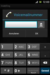 Sony C1505 Xperia E - Voicemail - Handmatig instellen - Stap 7
