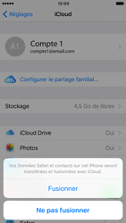 Apple iPhone 6s iOS 10 - Device maintenance - Back up - Étape 8