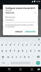 Motorola Moto E (1st Gen) (Lollipop) - Internet et connexion - Partager votre connexion en Wi-Fi - Étape 8