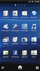 Sony Ericsson Xperia Neo V - MMS - afbeeldingen verzenden - Stap 2